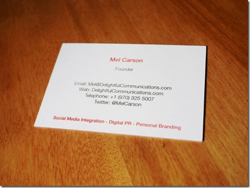 Create Business Cards