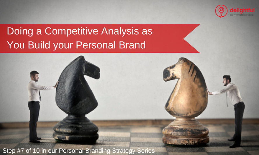 How to do a competitive analysis for your personal brand