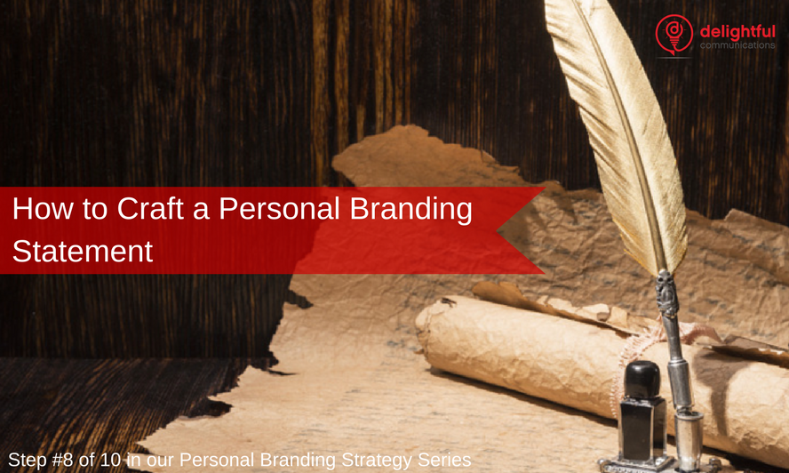 How to craft a personal branding statement