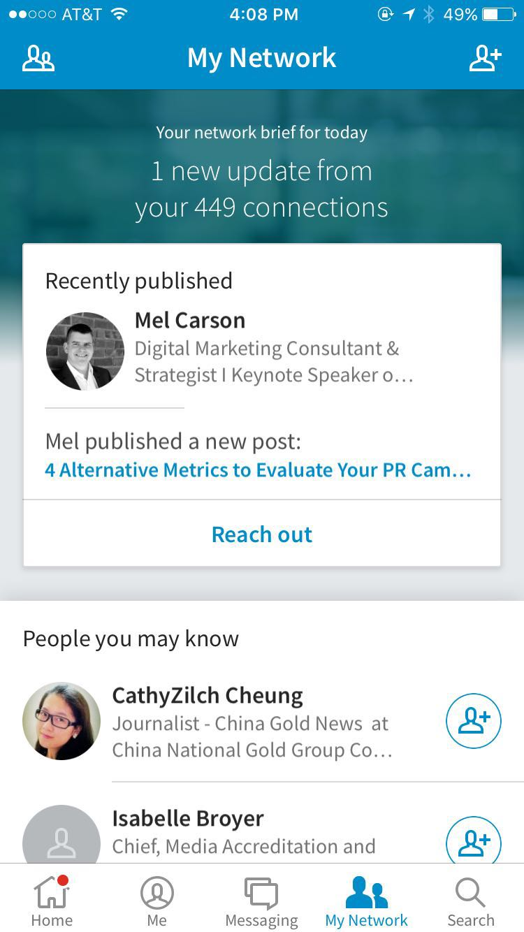 How to Use the New LinkedIn App for Personal Branding